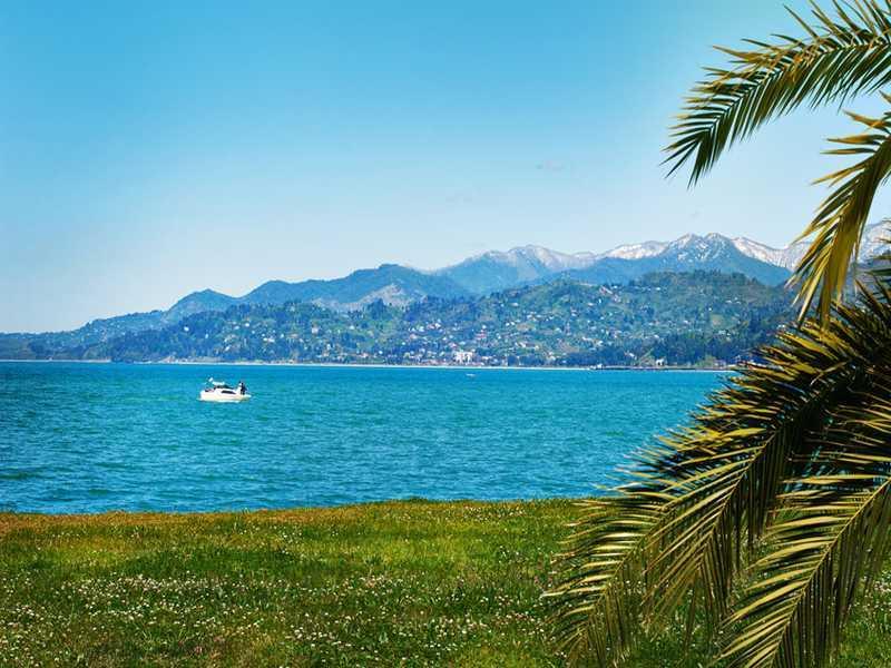 Georgiens Küste