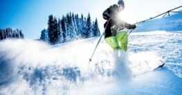Skifahren im Kaukasus